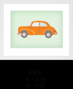 retro bil
